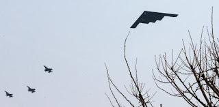 bombarderos stealth de Estados Unidos en Corea