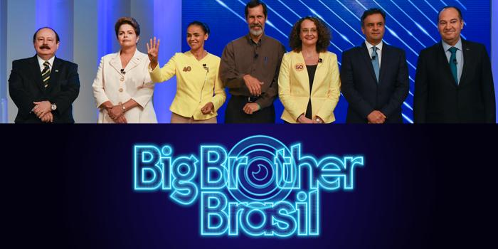 Eleições Brasileiras e BBB: dá no mesmo