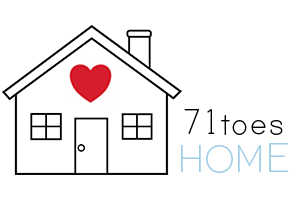 check out the new 71toesHOME blog