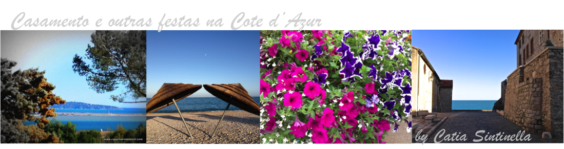 Dicas  para Festas e Eventos - Cote d'Azur
