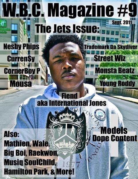 W.B.C. Magazine #9 Cover
