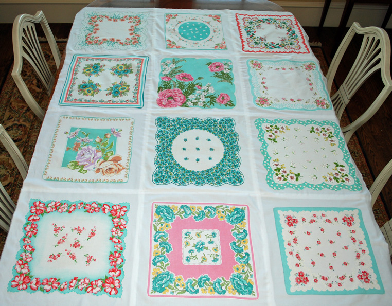 Lake and Garden: Vintage Hankie Quilt : handkerchief quilts instructions - Adamdwight.com