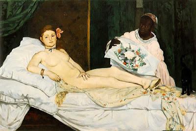 Edouard Manet - Olympia,1863