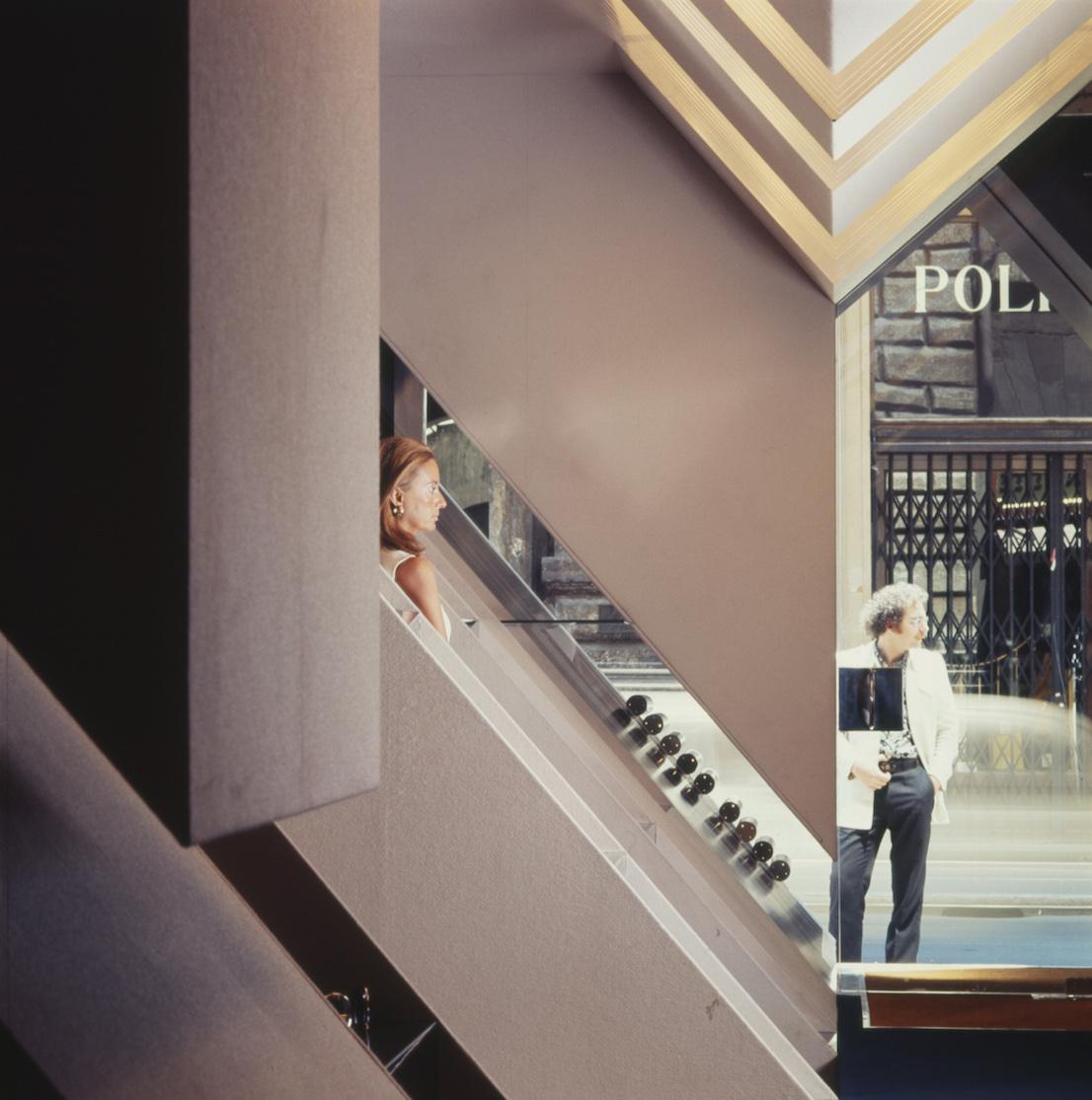 Mila Schon store in Rome designed by Ugo la Pietra 1973 via www.fashionedbylove.co.uk