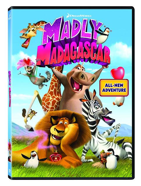 Madly Madagascar DVD #MuyLatinas Dreamworks Sorte