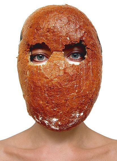 Barbora Bálková fotografia surreal máscaras Pão