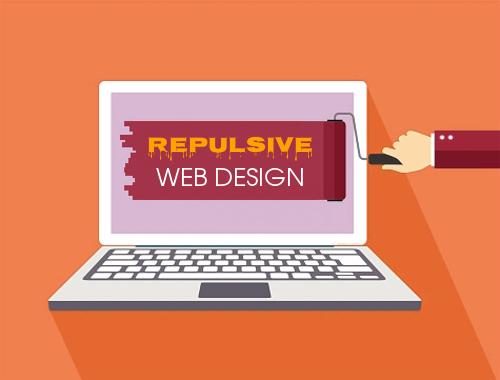 Repulsive Web Design