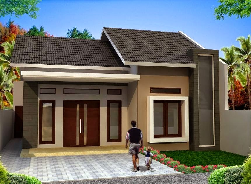 Desain Rumah Ada 10 Rumah Minimalis Sederhana   Ispirasi Desain
