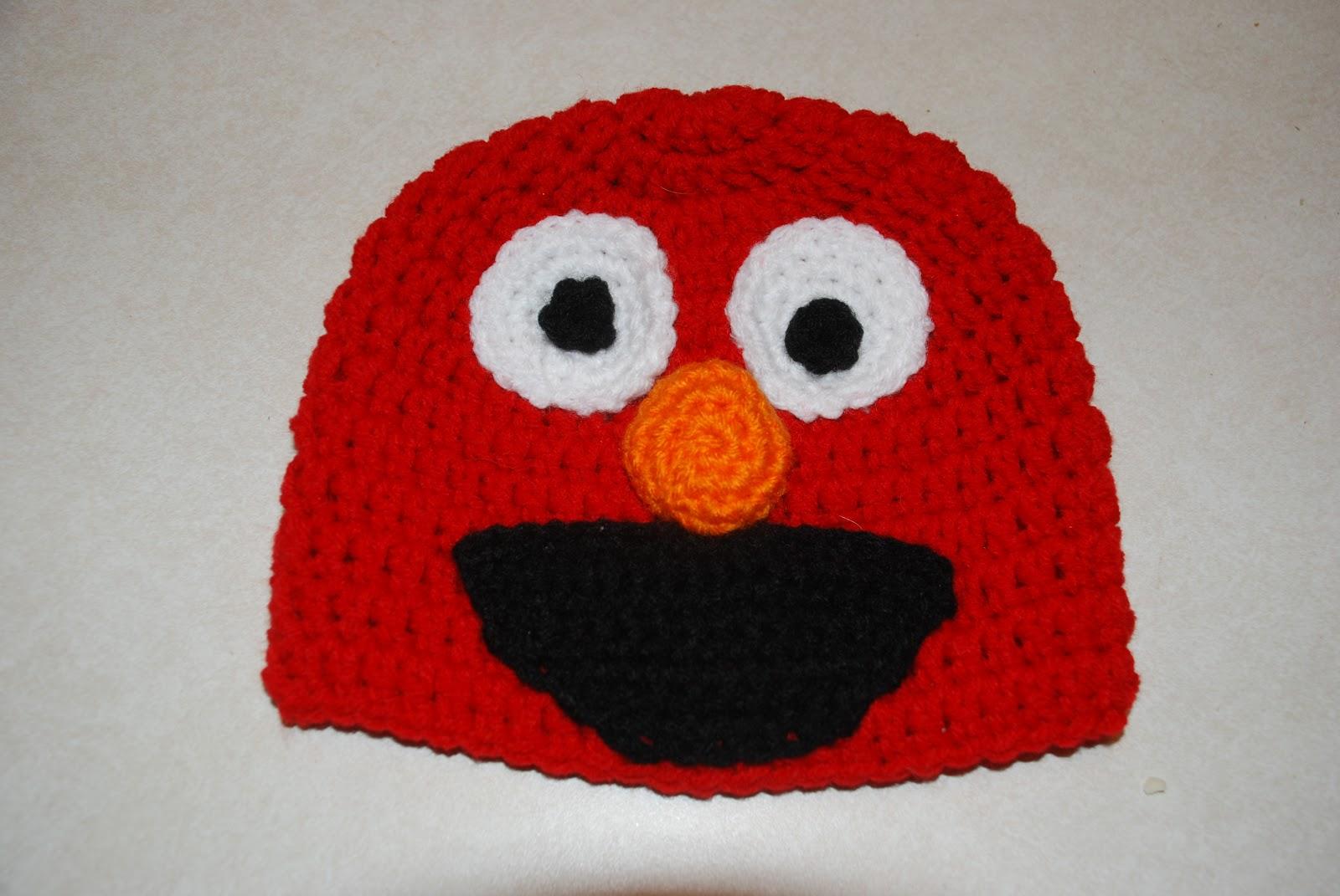Free Crochet Patterns For Elmo Hat : Elmo hat