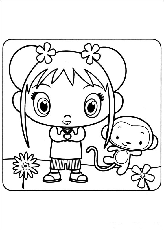 kai lan coloring pages - photo#16