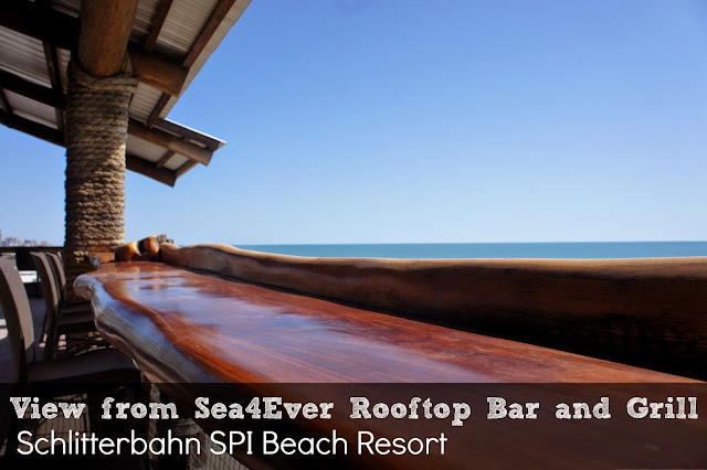 Rooftop Restaurant Bar and Grill Schlitterbahn South Padre Island Beach Resort