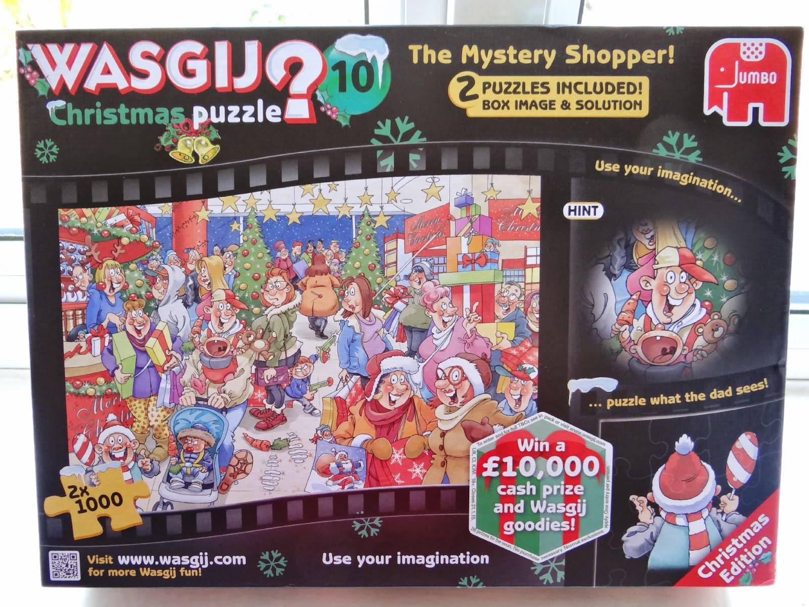 Wasgij Puzzle, Christmas puzzle, Christmas gift