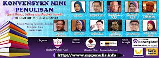 Konvensyen Mini Penulisan 2013