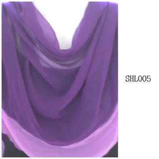shawl halfmoon 2 layer indigo