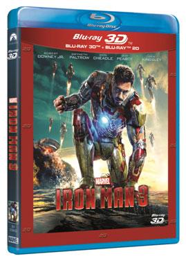 Iron Man 3 - 3D COMBO, BLU-RAY Y DVD