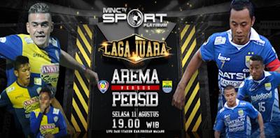 Arema Cronus vs Persib 11 Agustus 2015 Live MNCTV
