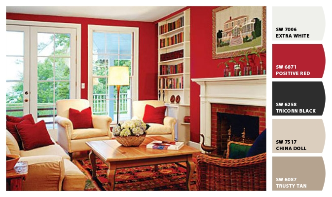 Pinturas sherwin williams la psicologia del color Colores para living comedor