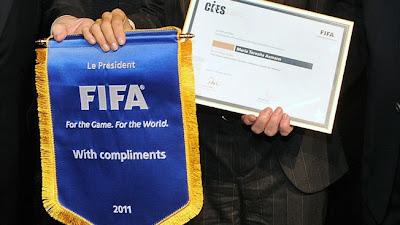 Ganadores de los Premios FIFA 2012