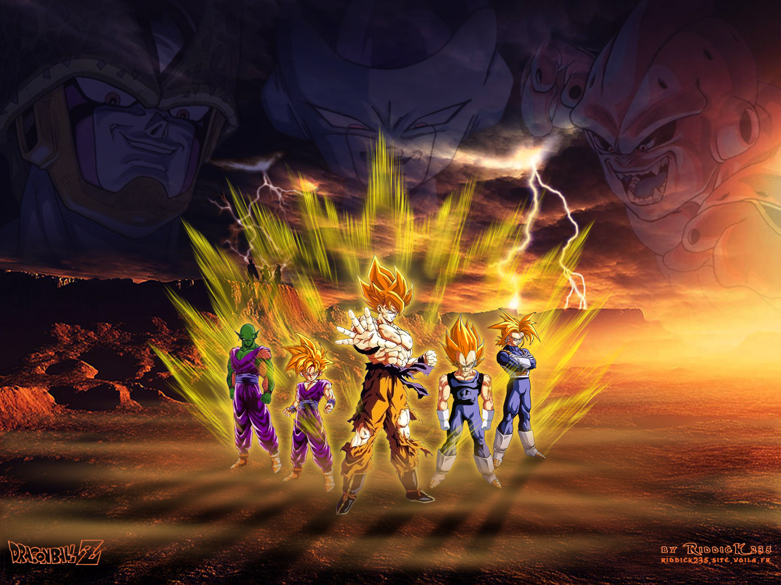 New Dragon Ball Z Desktop Backgrounds