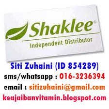 I'm Shaklee Independant Distributor