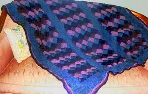 Entrelac Patterns Synthesis Sources On The Net For Reference - Knitting Unlim...