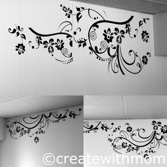 Great Instant makeover using StickerBrand Wall Decals