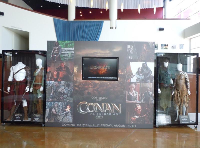 Conan the Barbarian movie costume exhibit