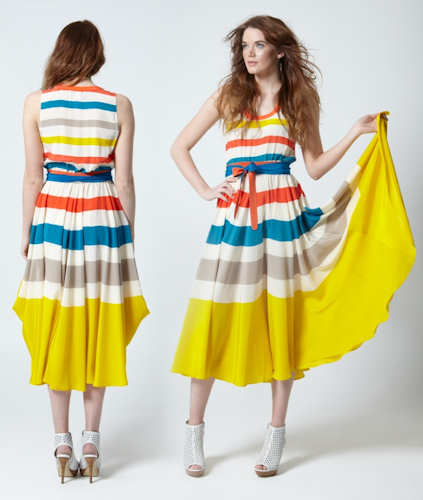 Marc jacobs yellow dress