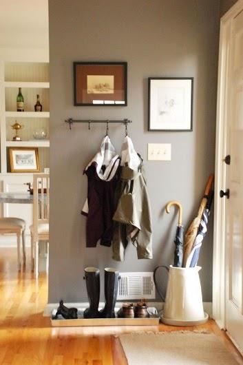Agrega un recibidor en tu hogar