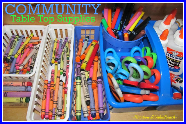 photo of: Classroom Supplies housed for Community Distribution
