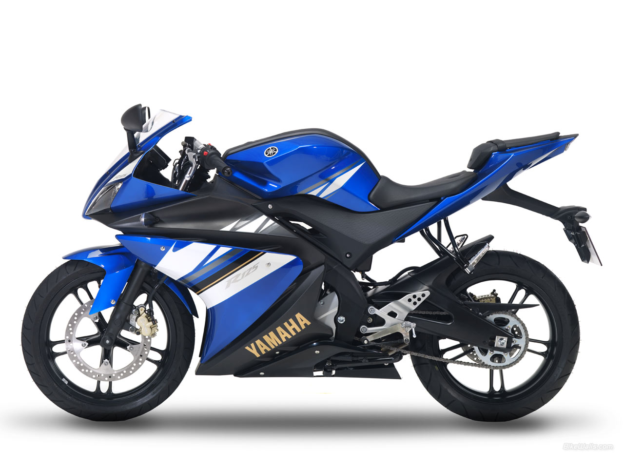 yamaha yzf r125 azul clube do nibus. Black Bedroom Furniture Sets. Home Design Ideas
