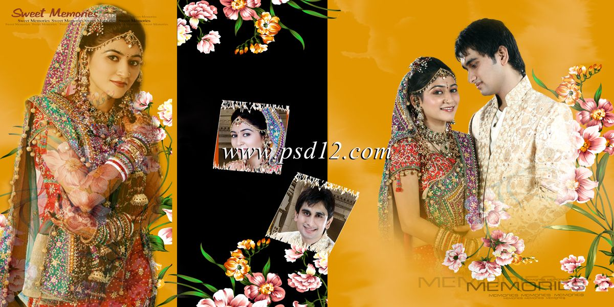 Photoshop Backgrounds: Indian Wedding Album Templates - Karizma ...