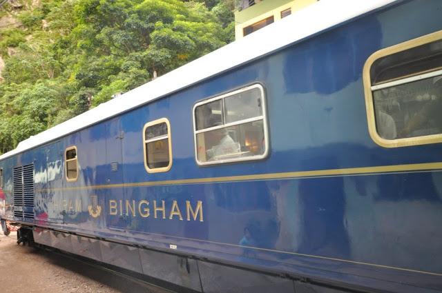 Hiram Bingham,Luxury Train