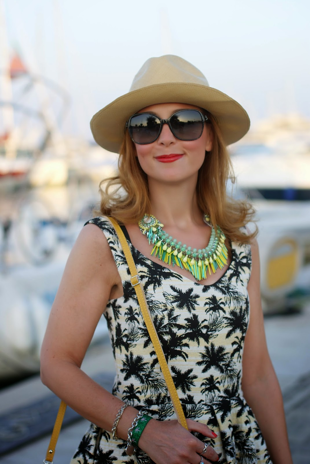 Sodini necklace, ecua-andino classic panama hat, Fashion and Cookies, fashion blogger