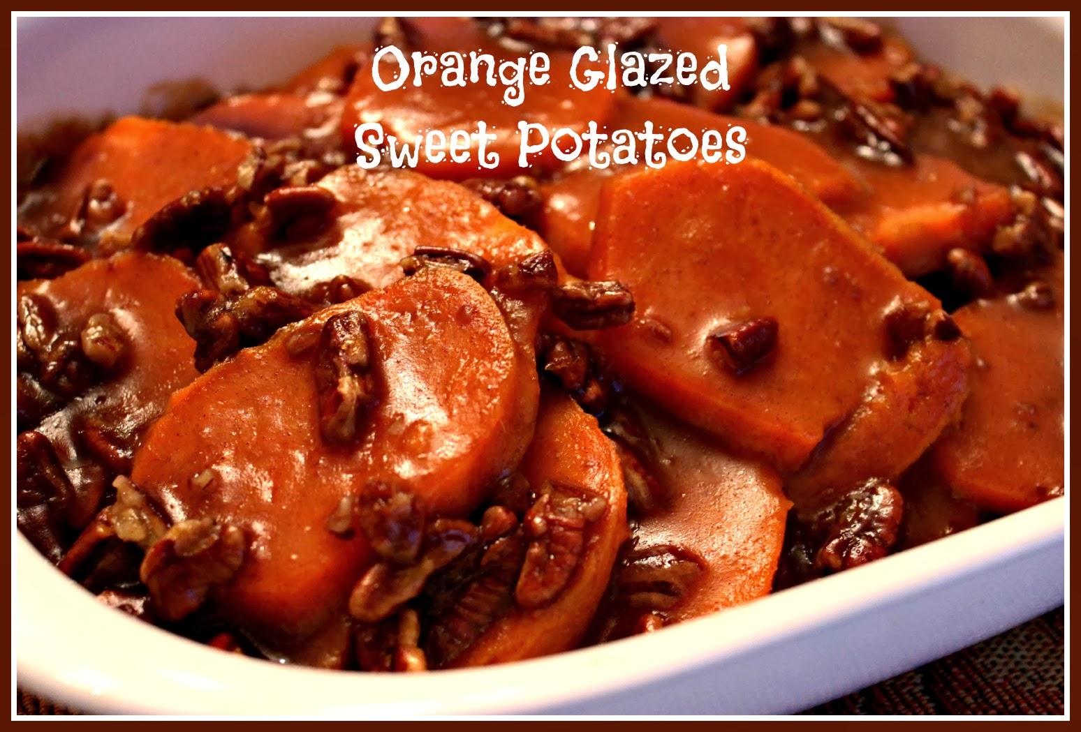 Sweet Tea and Cornbread: Orange Glazed Sweet Potatoes!