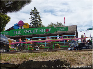the sweet shop in Tobermory, Ontario