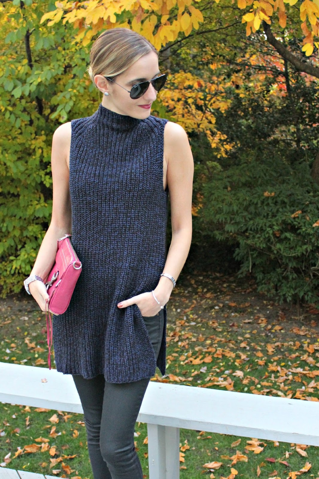 ann taylor sleeveless sweater