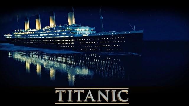 Hình nền máy tính poster phim Titanic huyền thoại