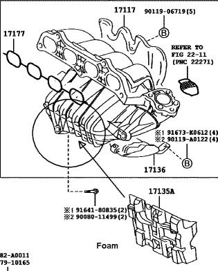 Toyota 2AZFE Stripped Block Threads  AKA Stripped Headbolts