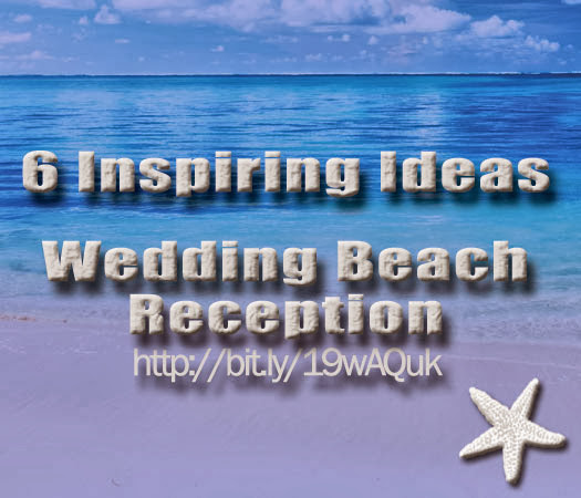 Beach Wedding Reception Centerpieces Decor image