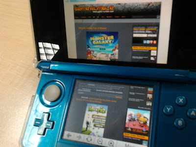 Nintendo 3DS Internet Browser