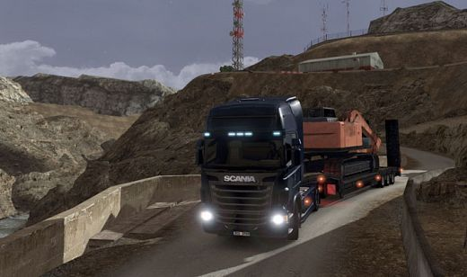 ����� ����� �������� SCANIA Truck Driving Simulation