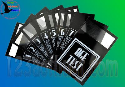 đạo cụ ảo thuật thẻ bài