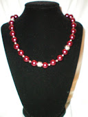 Burgandy Pearls