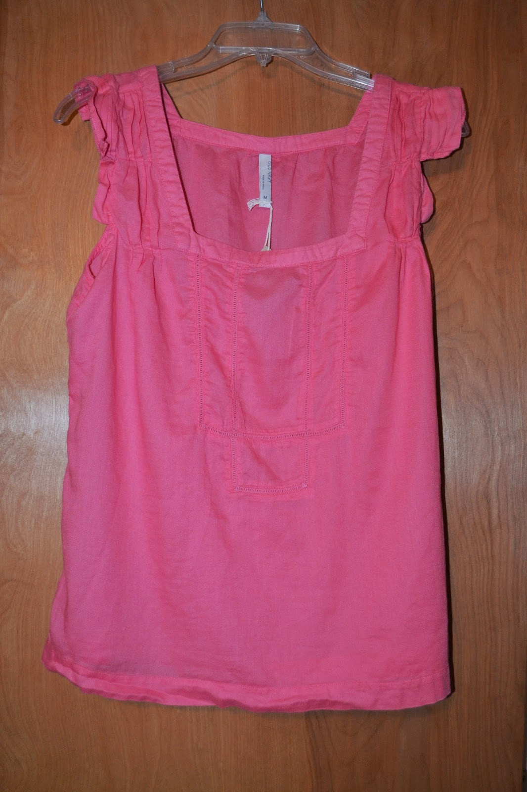 Thred up Pink Top