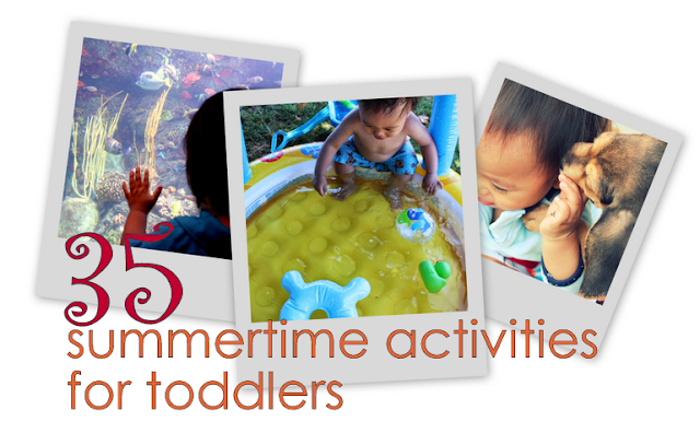 bucket list activities for your toddler