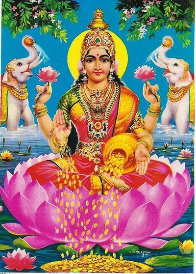 Bhakti wallpaper goddess lakshmi - Images of hindu gods and goddesses ...