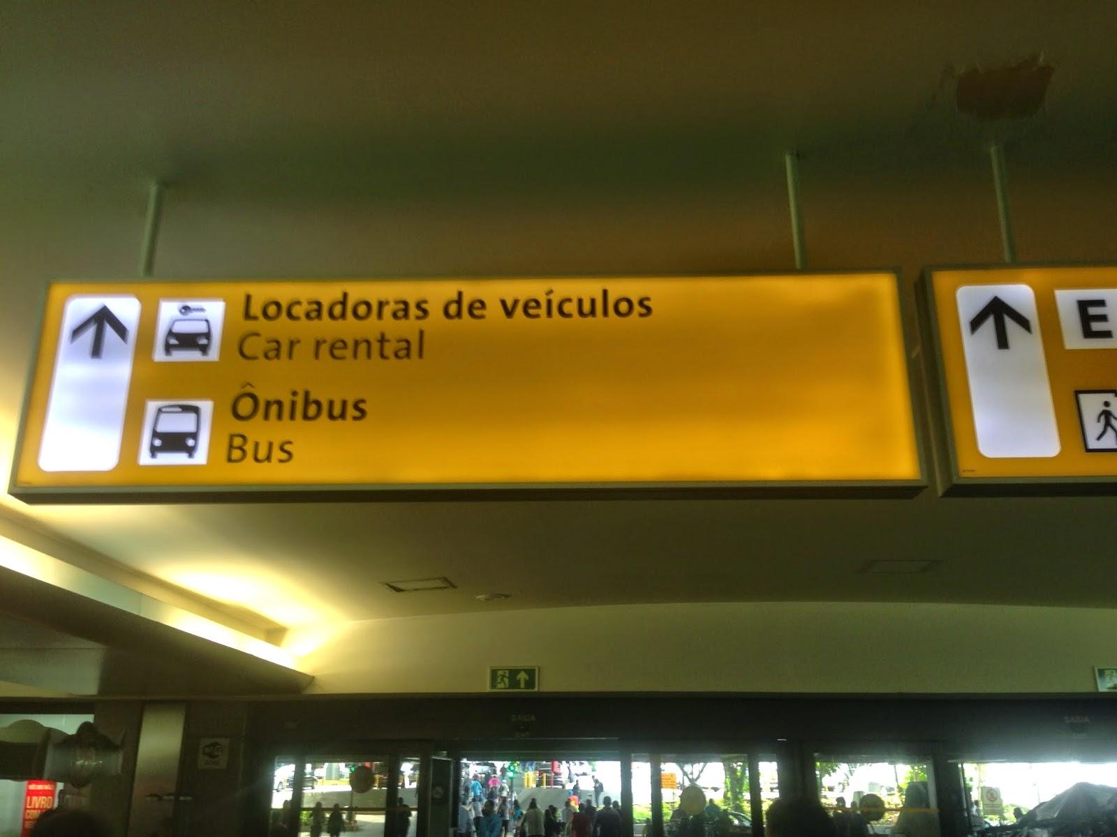 Como ir de São Paulo para o Aeroporto Internacional de Guarulhos utilizando o transporte público?