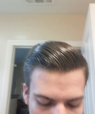 Hasil Pemakaian DAX Short Neat Pomade THE Blue DAX USA