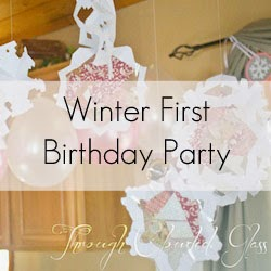 Winter First Birthday Party